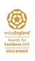 Enjoy England Awards for Excellence Gold Winner